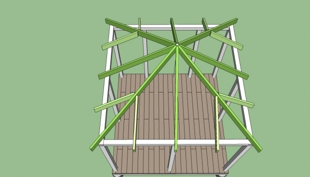 Fascinating How To Build A Gazebo Roof Incredible How To Build A Gazebo Roof Garden Landscape
