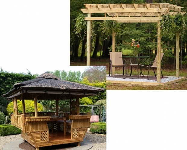 Fascinating Pergola Vs Gazebo Pergola Vs Gazebo Homeverity