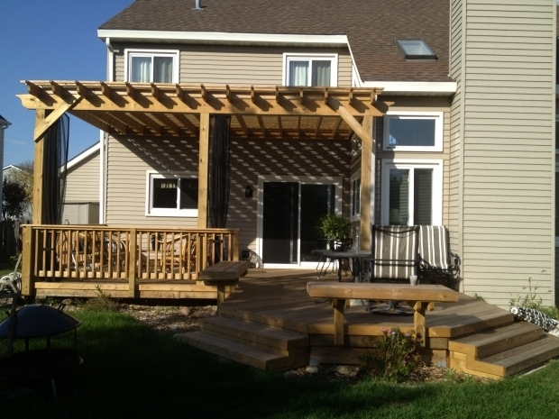 Fascinating Screened In Pergola Pergola With Mosquito Curtains An Alternative To A Screened In