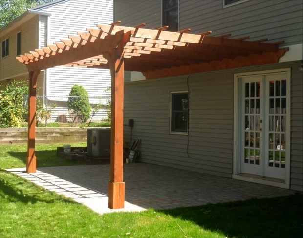 wall mounted pergola designs pergola gazebo ideas. Black Bedroom Furniture Sets. Home Design Ideas