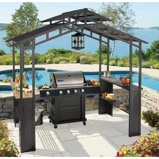 Image of Battery Operated Outdoor Chandeliers For Gazebos Kitchen Outdoor Gazebo Chandelier Amazing Gazebo For Small