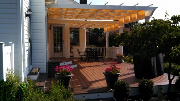Image of Pergola With Retractable Canopy Kit Pergolas And Pergola Kits With Retractable Canopy