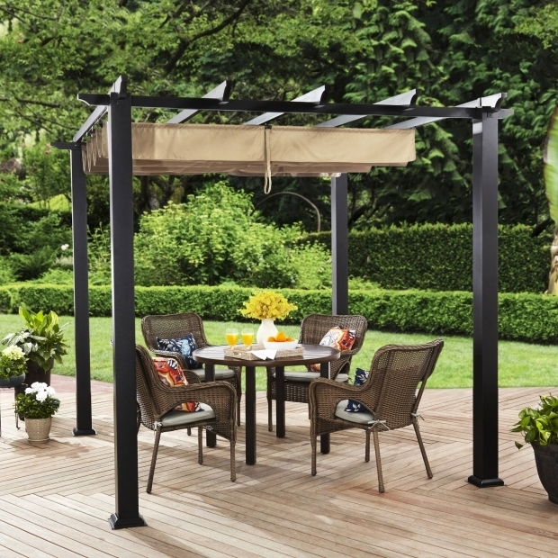 Incredible 8 X 8 Adjustable Shade Pergola Pergola Outdoor Accessories