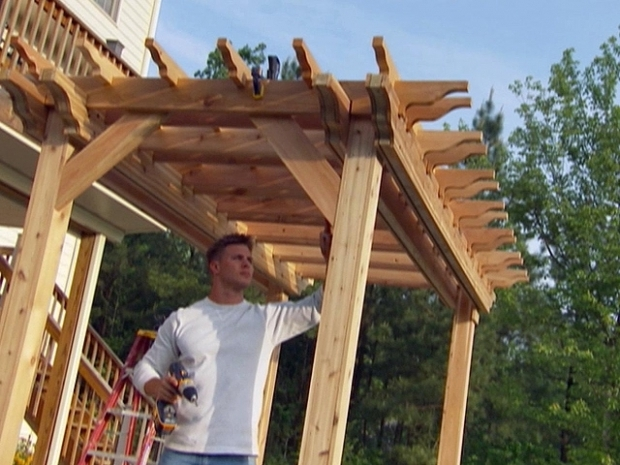 Inspiring Diy Garden Pergola How To Build A Garden Pergola How Tos Diy