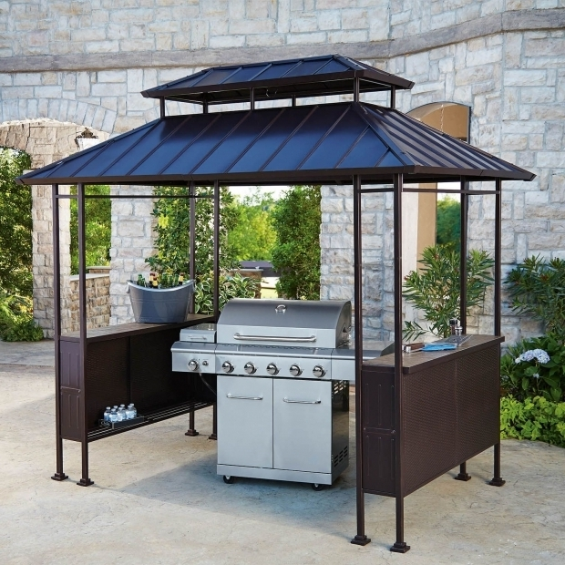 Inspiring Grill Gazebo Sams Club Gazebo Ideas A Large Enough Gazebo Can Fit Your Entire Patio Set