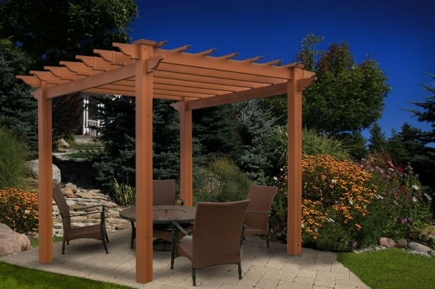 Inspiring Lowes Pergola Kits Outdoor Protect And Patio Cover For Enhanced Outdoor Living With