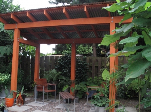 Inspiring Metal Roof Pergola Metal Roof Pergola Roofing Decoration - Metal Roof Pergola - Pergola Gazebo Ideas