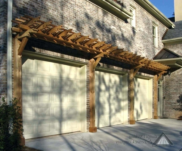 Inspiring Over Garage Pergola Pergola Over Garage Door Gallery Photoseasy Plans Trellis Doors