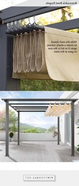 Marvelous Diy Pergola With Retractable Canopy Diy Pergola Retractable Roof Shade Httpwwwuk Rattanfurniture