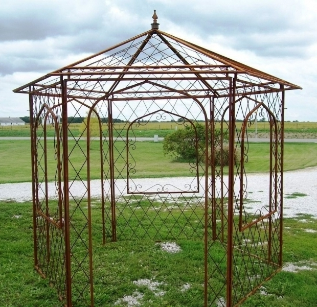 Outstanding Metal Frame Gazebo Kits Ideas Metal Framed Gazebo Home Design And Decor