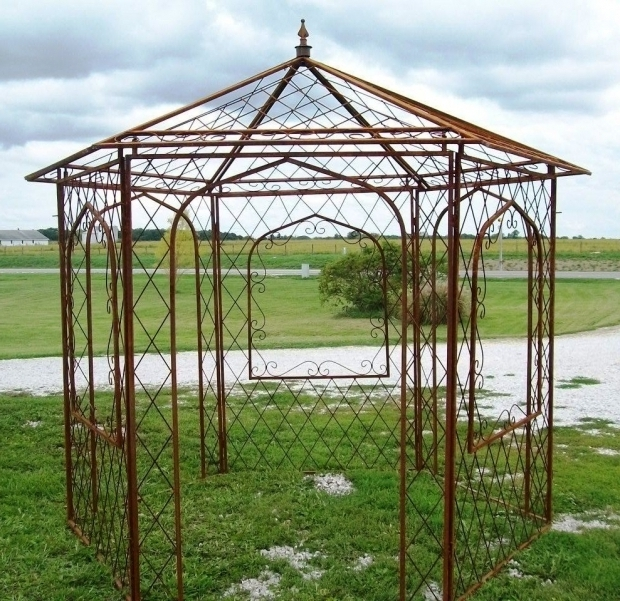 Outstanding Metal Gazebo Kits Sales Outdoor Metal Gazebo For Sale Parts Kits Top Garden Gazebos Uk Ciov
