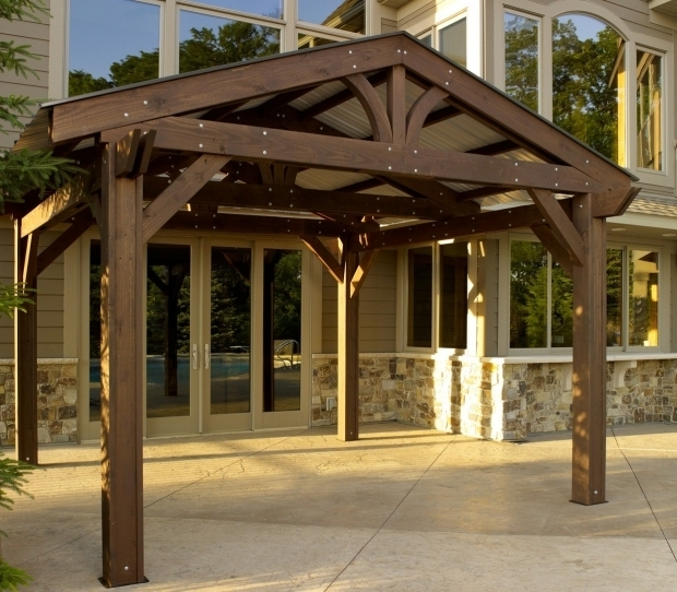 Outstanding Metal Roof Pergola Lodge Pergola Metal Roof Option Roof Metal Outdoor Greatroom