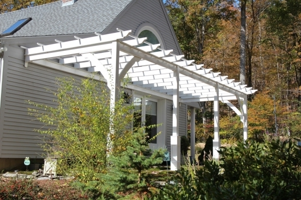 Outstanding Wall Mounted Pergola Pergolas Wall Mount Or Freestanding Customizable The Barn Yard
