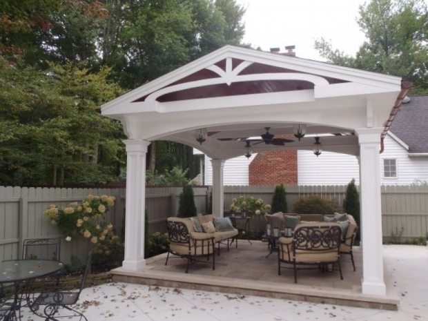 Picture of Free Standing Gazebo Freestanding Gazebocovered Patio Residential Projects Lydon Free