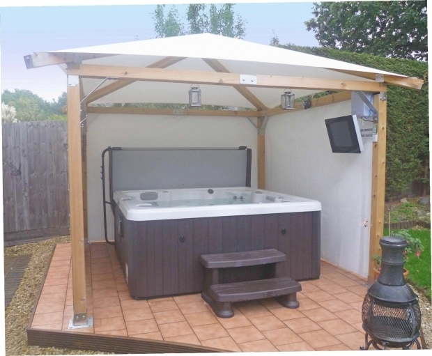 Picture of Gazebo For Hot Tub Kits Hot Tub Gazebo Kits Gazebo Ideas
