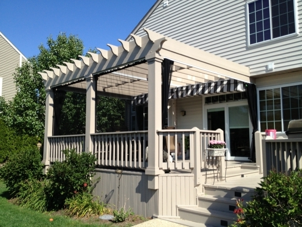 Remarkable Screened In Pergola Pergola With Mosquito Curtains An Alternative To A Screened In