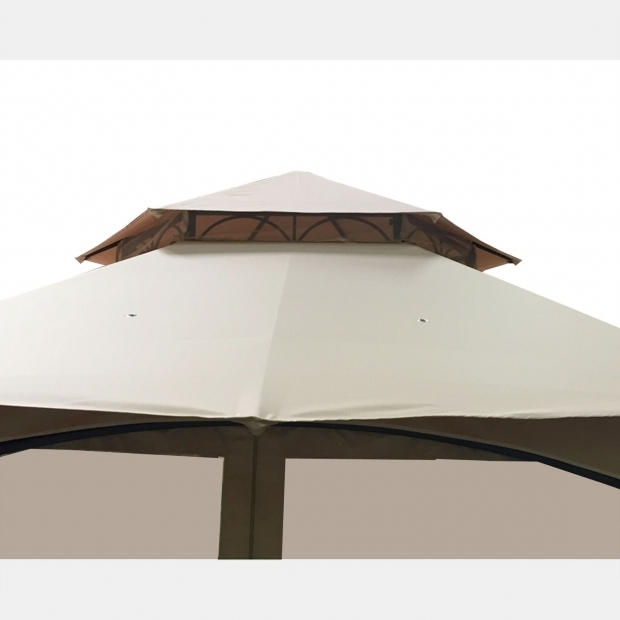 Remarkable Wilson & Fisher Southbay Hexagon Gazebo Replacement Canopy And Net For Big Lots Southbay Hexagon Gazebo