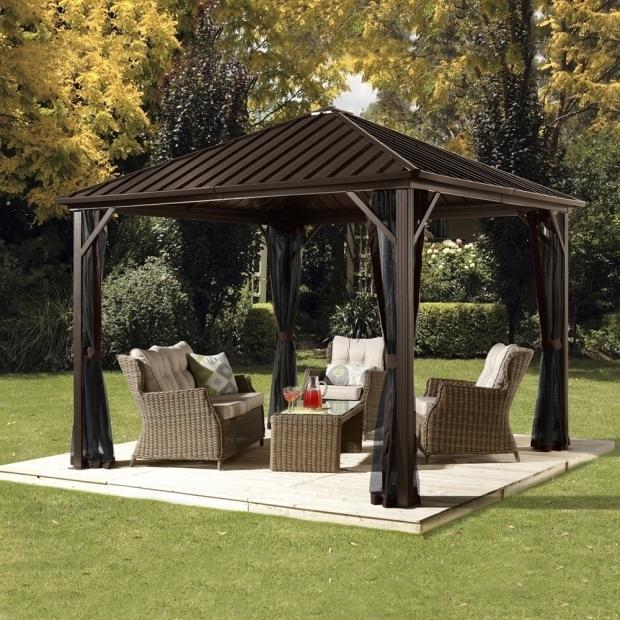 Garden treasures pergola gazebo pergola gazebo ideas for Garden treasures pool clock