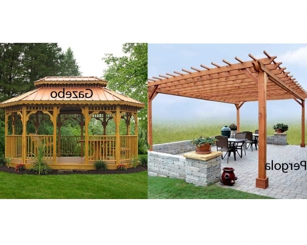 Stunning Pergola Vs Gazebo Pergola Vs Gazebo Homeverity