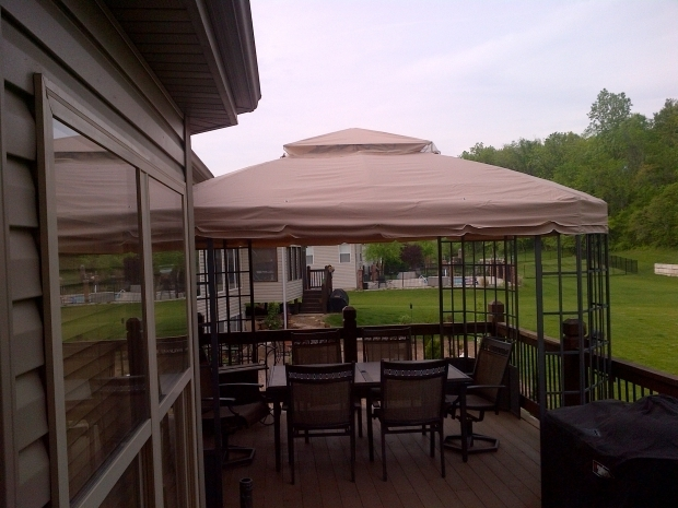 Stylish Garden Oasis Bay Window Gazebo Sears Kmart Bay Window Gazebo Replacement Canopy Velcro Garden Winds