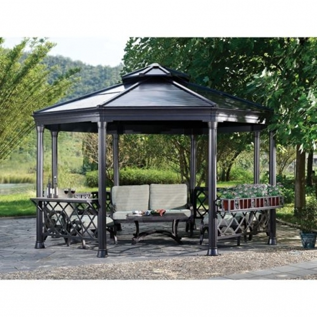 Stylish Member's Mark Royal Hardtop Gazebo Members Mark Royal Hardtop Gazebo Reviews Dropress Gazebos