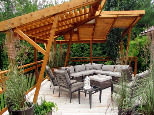 Wonderful Cantilever Pergola Design Cantilevered Pergolas Take Flight Blackline Designbuild