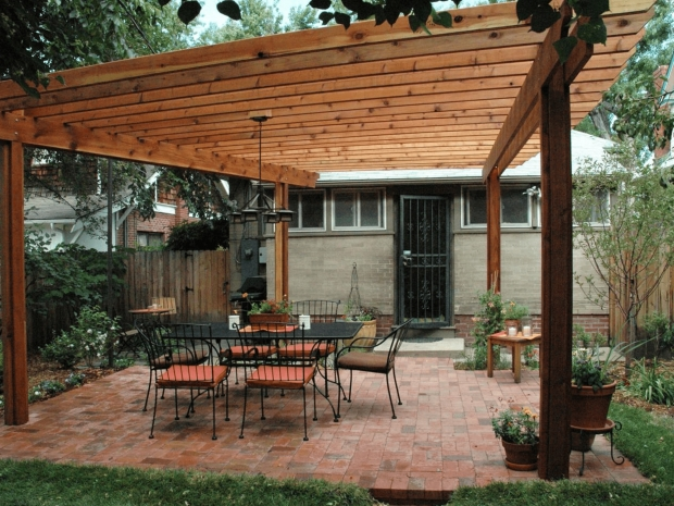 How To Build A Covered Pergola