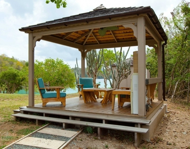 Alluring Diy Gazebo Canopy Ideas Gazebo Diy Kits Design Home Ideas