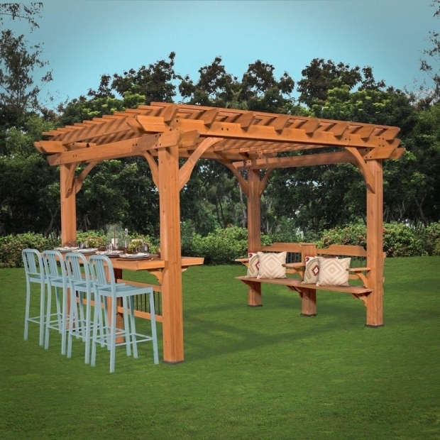 Alluring Sams Club Pergola Interior Design Oasis 12 Ft X 10 Ft Pergola Brownstans More
