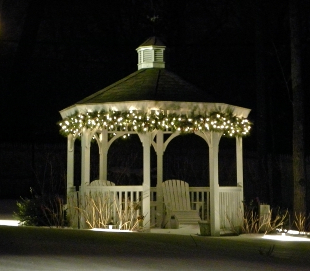 Amazing Outdoor Gazebo Lighting Chandelier Beautiful Outdoor Gazebo Lighting Homesfeed