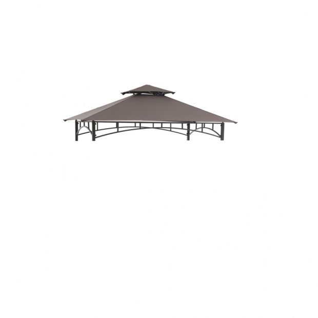 Amazing Sunjoy Grill Gazebo Replacement Canopy Shop Sunjoy Brown Gazebo Replacement Canopy Top At Lowes