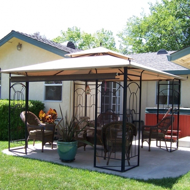 Awesome Arrow Gazebo Replacement Canopy Replacement Canopy For Arrow Gazeb Riplock 350 Garden Winds