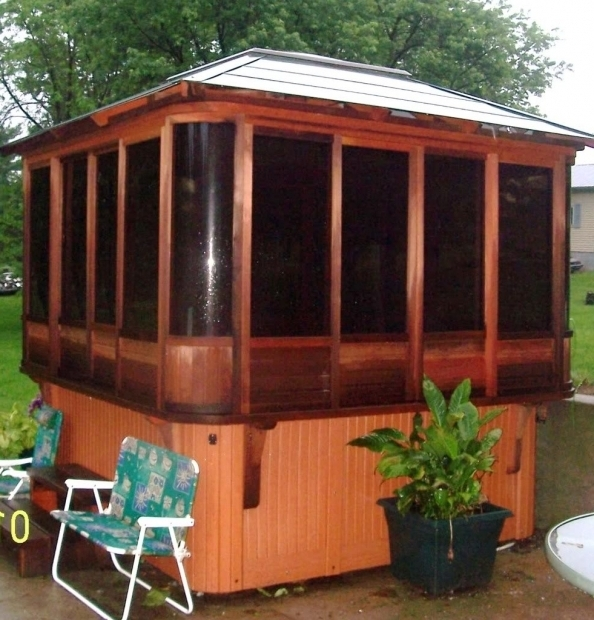 Enclosed Gazebo For Hot Tub