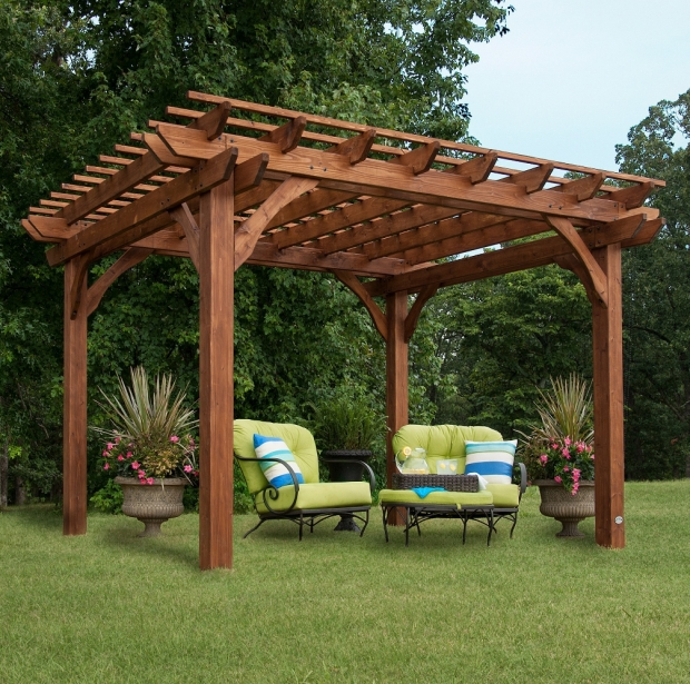 Awesome Freestanding Pergola With Canopy Free Standing Pergola 10 X 12 Gazebo Kit Backyard Patio Canopy