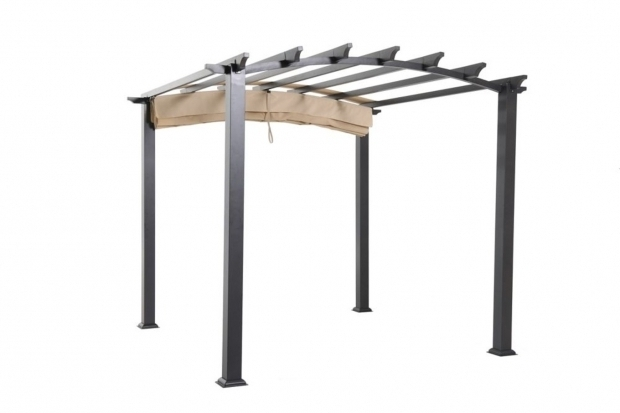 Awesome Hampton Bay Arched Pergola Hampton Bay Arched Pergola Dropress Gazebos