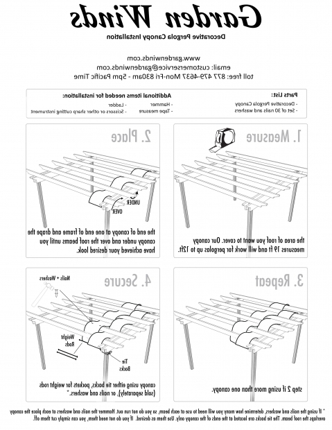 Awesome Pergola Canopy Diy Diy Decorative Pergola Shade Canopy Garden Winds