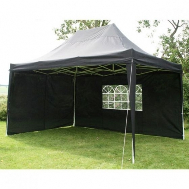 Awesome Pop Up Gazebo With Sides Airwave Black 45x3m Waterproof Pop Up Gazebo Includes Sides And