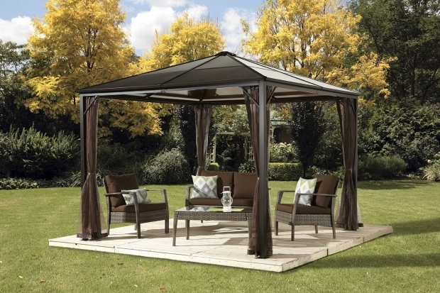 Beautiful 10x10 Hardtop Gazebo With Mosquito Netting Ebayca 10x10 Hard Top Gazebo With Mosquito Netting 58999 Can