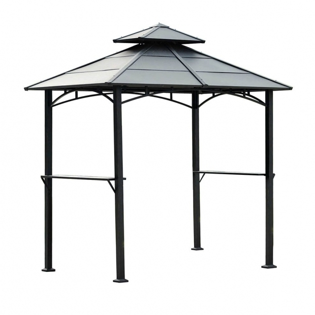 Beautiful Hardtop Grill Gazebo Lowes Sunjoy 110104003 Cartel Hardtop Grill Gazebo Lowes Canada