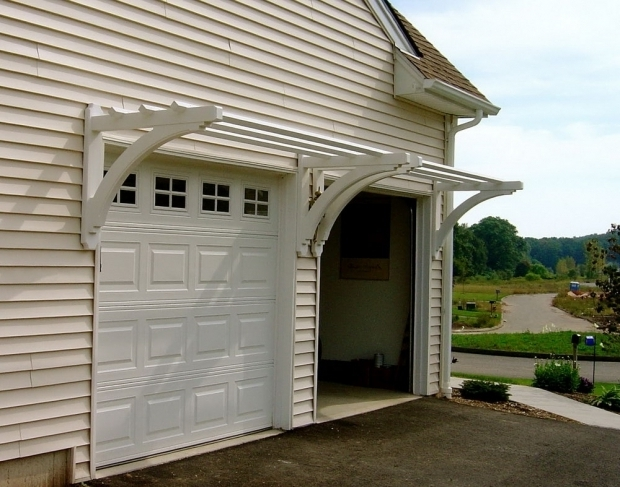 Beautiful Pergola Over Garage Door Build Pergola Over Garage Door Home Design Ideas