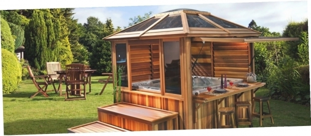 Delightful Enclosed Gazebo For Hot Tub Enclosed Hot Tub Gazebo Gazebo Ideas