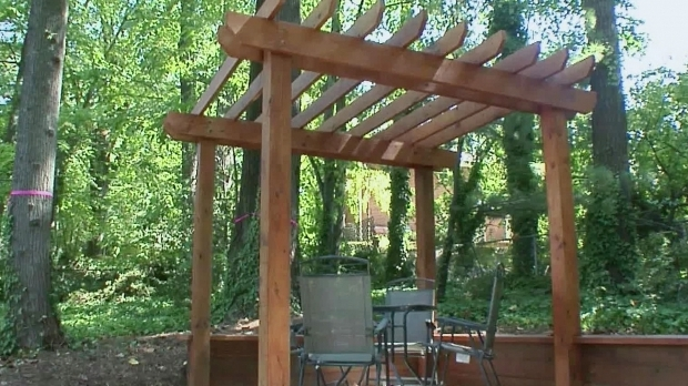 Delightful How To Build A Large Pergola Pergola Plans And Design Ideas How To Build A Pergola Diy