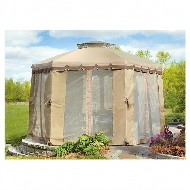 Delightful Pop Up Gazebo With Netting Castlecreek Pop Up Gazebo With Bug Netting 12 X 12 234572