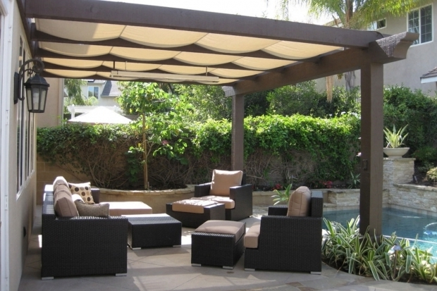 Shade Cloth Pergola