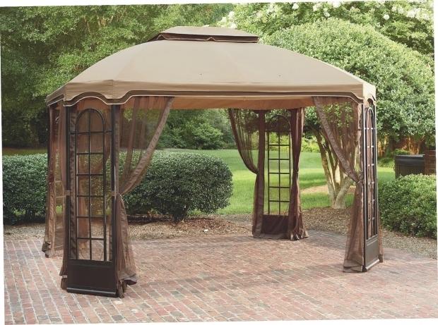 Fantastic Essential Garden Gazebo Kmart Essential Garden 10x10 Arrow Gazebo Replacement Canopy
