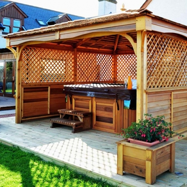 Fantastic Gazebo For Hot Tub Hot Tub Enclosures Gazebos Pvs Hot Tubs Norfolk