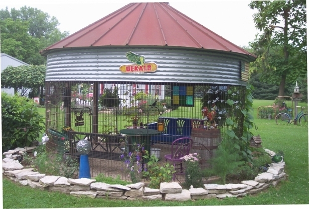 Fantastic Grain Bin Roof Gazebo Grain Bin Gazebo Gazebo Ideas
