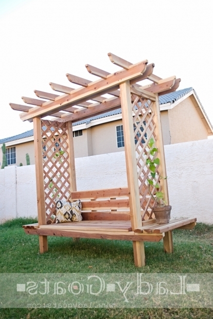 Fantastic How To Build A Arbor Pergola Ana White Outdoor Bench With Arbor Diy Projects