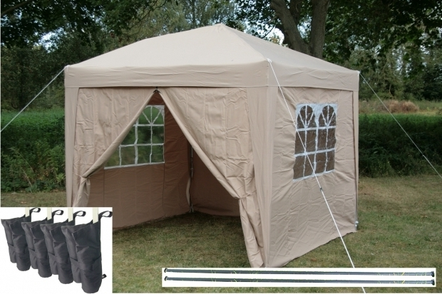 Fantastic Pop Up Gazebo With Sides Airwave 25x25m Pop Up Gazebo Waterproof Garden Gazebo 2 Windbars