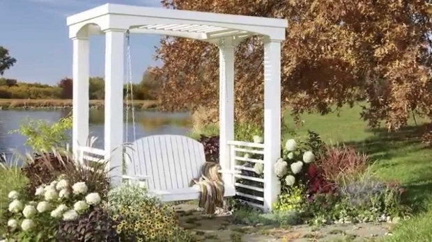Fascinating How To Build A Arbor Pergola How To Build An Arbor Swing Youtube